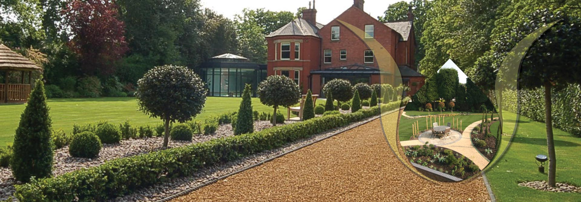 garden design cheshire driveways cheshire resin driveways - Garden Design Cheshire